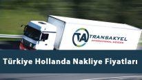 Türkiye Hollanda Nakliye Fiyatları