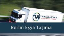 Berlin Eşya Taşıma