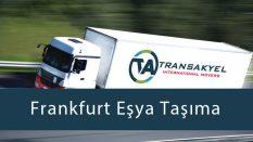 Frankfurt Eşya Taşıma
